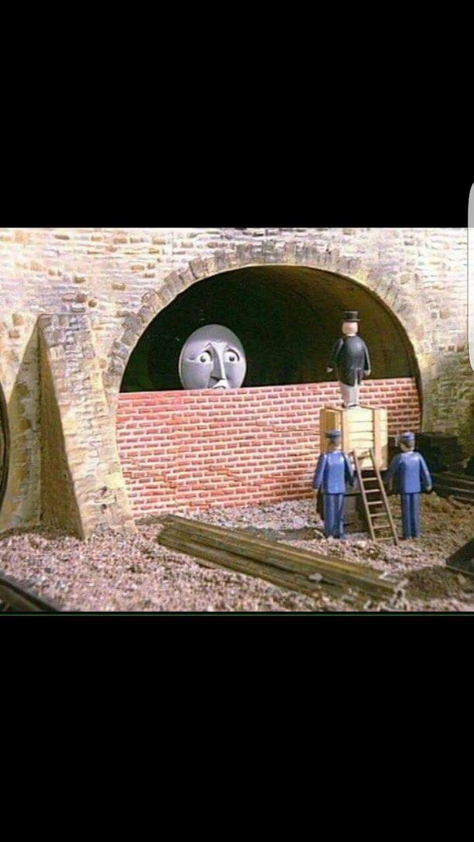 Oh dear. Channel Tunnel this morning. #brexit https://t.co/gUVNw8NUXj