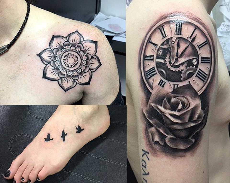 Pura vida tatuajes on twitter tattoo by cesarrbtattoo for Reloj para tatuar