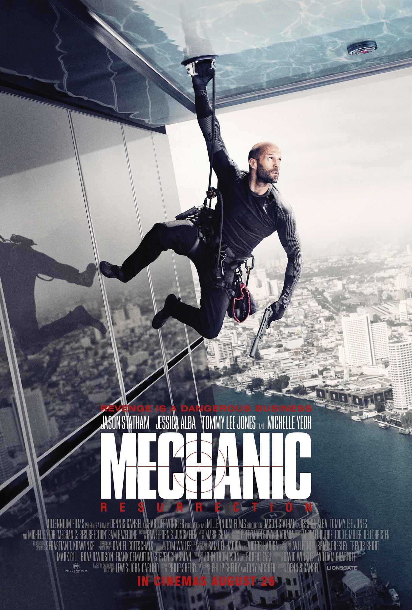 Mechanic: Resurrection Trailer Featuring Jason Statham & Jessica Alba 3