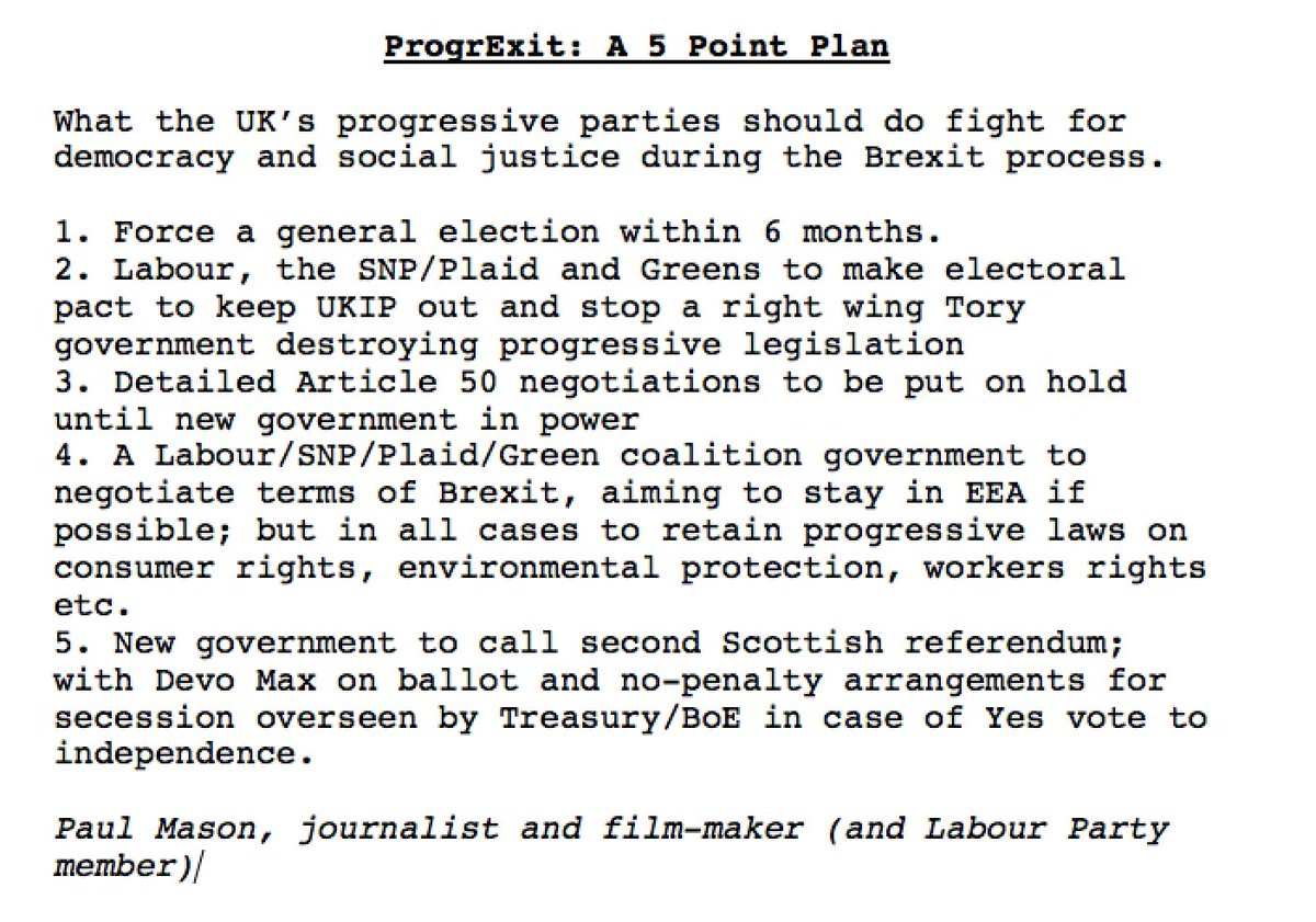 ProgrExit: a 5-point plan to fight for social justice and democracy during the Brexit process. RT if you agree https://t.co/MBPTVS7Ng7