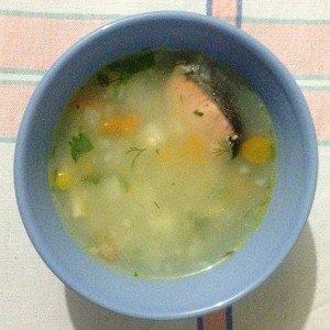 Суп из сёмги рецепт с фото пошагово