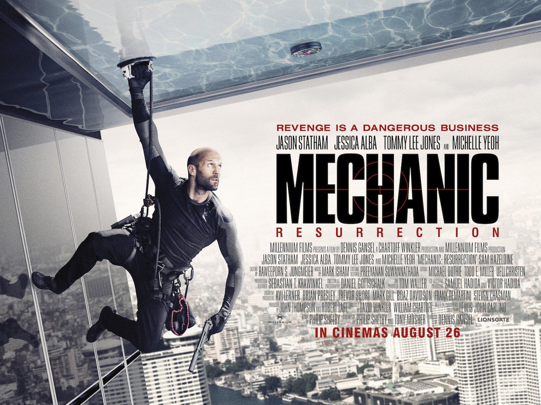 Mechanic: Resurrection Trailer Featuring Jason Statham & Jessica Alba 1