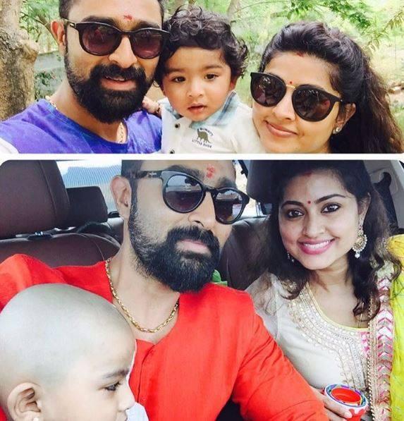 "Tamil Movies On Twitter: ""Actress Sneha & Prasanna With"