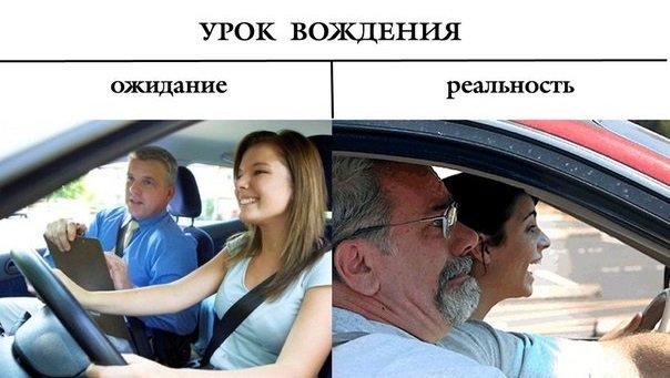 Приколы картинки про автошколу