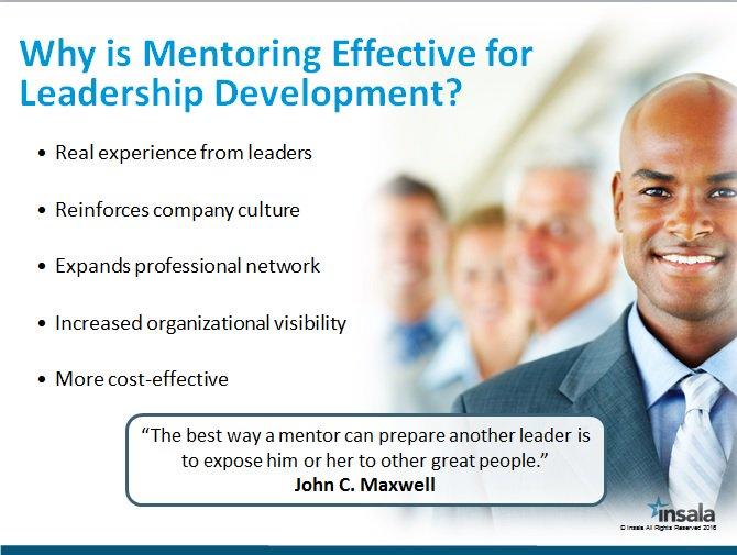 Mentoring for leadership