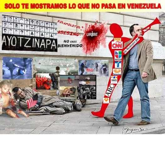 SOLO TE MOSTRAMOS LO QUE PASA EN VENEZUELA #CNNoperacionImperial  http...