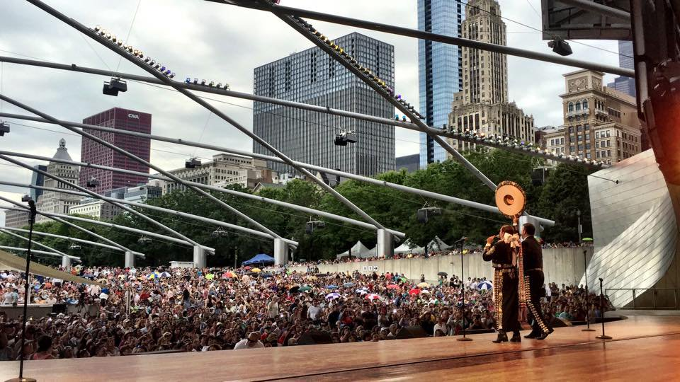 Chicago Mariachi Festival returns to @Millennium_Park on Sunday, June 26, 3-9pm; Pritzker Pavilion seating opens 4pm https://t.co/Mvt9YUynuu