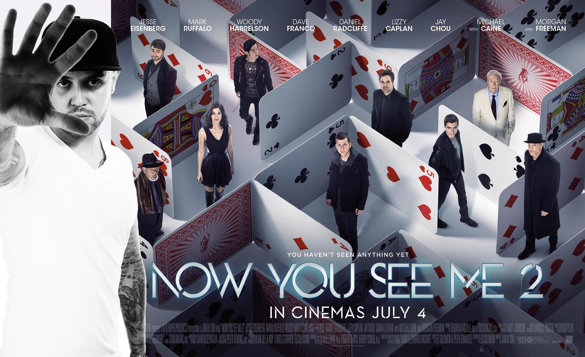 Don't forget you can win tickets to a screening on @NowYouSeeMe2UK hosted by me + see live magic ! to win just RT https://t.co/TmrI1OhWvm