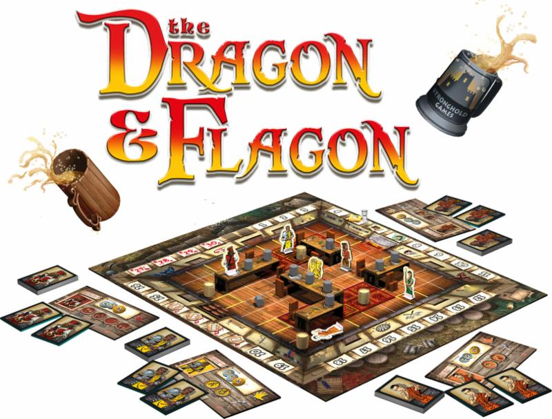 Image result for the dragon and flagon board game