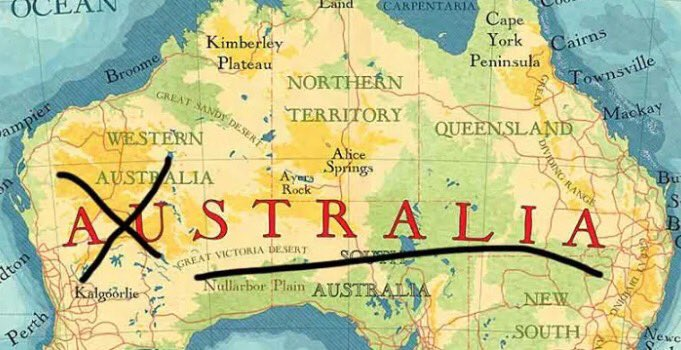 Breaking news: Austraia set to leave the AU and become just Stralia. (Via BrokenNews) https://t.co/de4Kp4XlcL