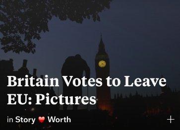 "⚡️ ""Britain votes EU exit, Cameron resigns and Trump has his say"" #SocialCurrentSee Flip②▶ https://t.co/TPKqWhJ0QX https://t.co/R15n6MpEi1"
