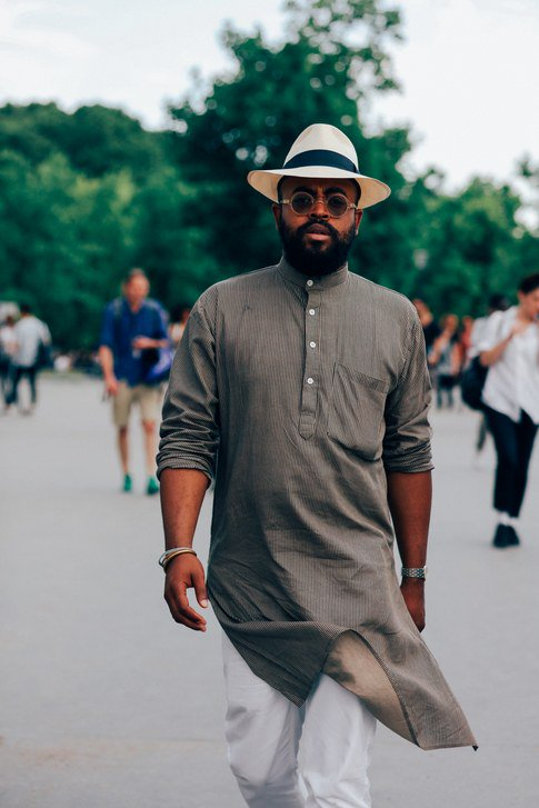 The best street style from Paris Fashion Week, feat. GQ Style's very own Mobolaji Dawodu
