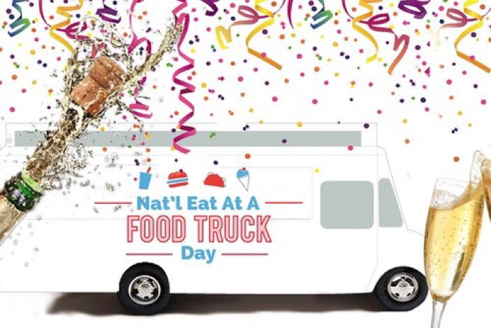 National Eat At A #FoodTruck Day has finally arrived!