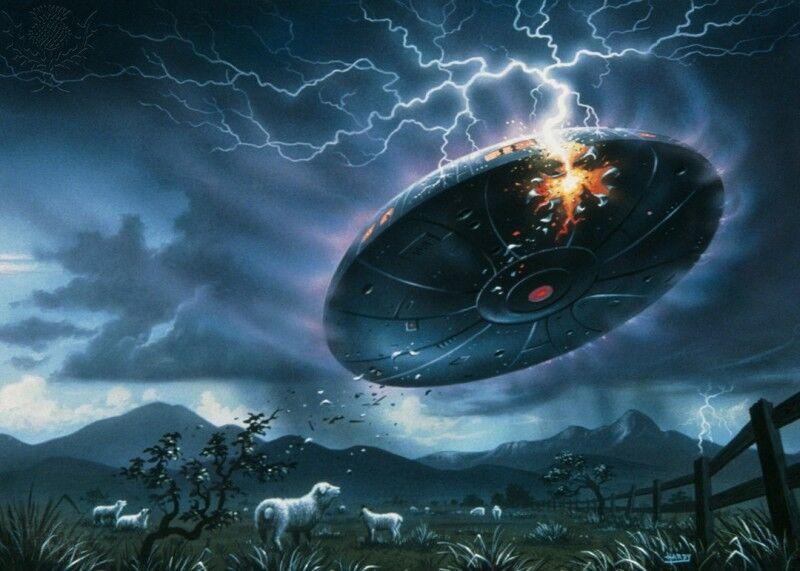 UFO Crash, Roswell: scoperto un frammento misterioso