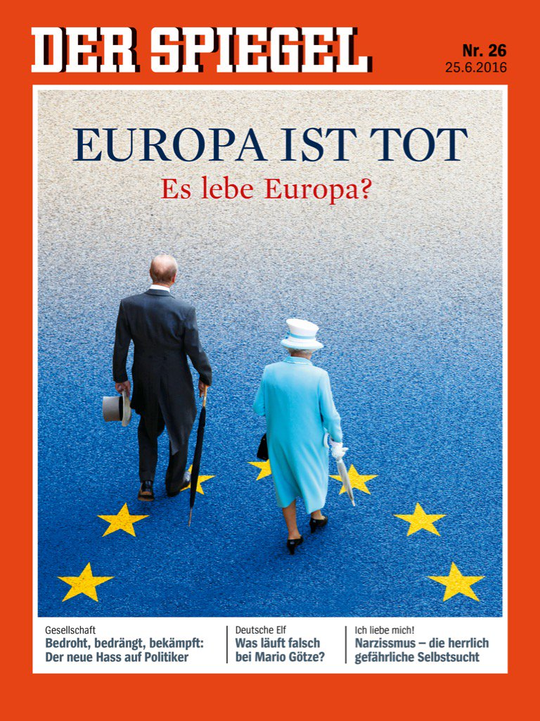 Photo the cover of german newsmagazine der spiegel reads for Spiegel cover
