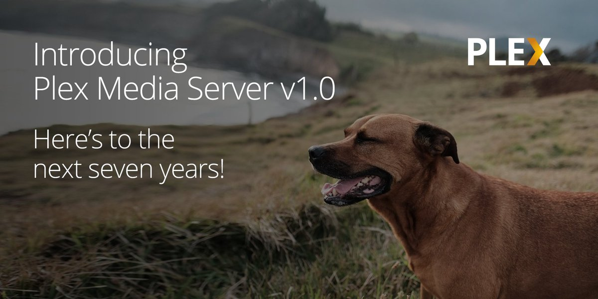 With extreme pride, we're thrilled to introduce v1.0 of Plex Media Server to you today!! https://t.co/lkGTtZ8arh https://t.co/YfYybLn7ox