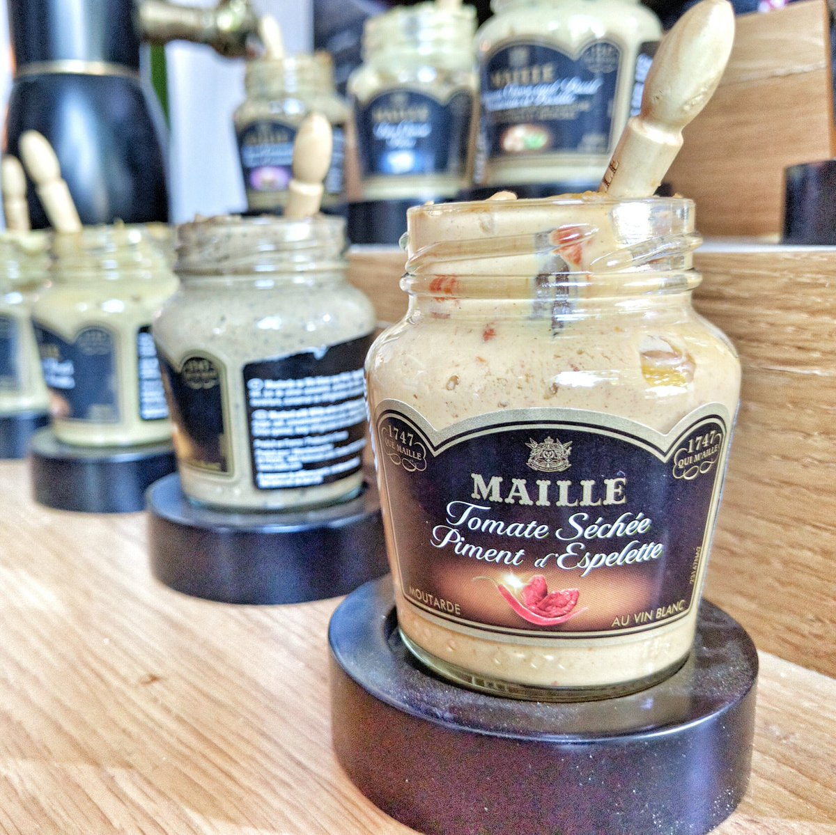 Travelling Foodie Eats: Maille Gourmet Mustard