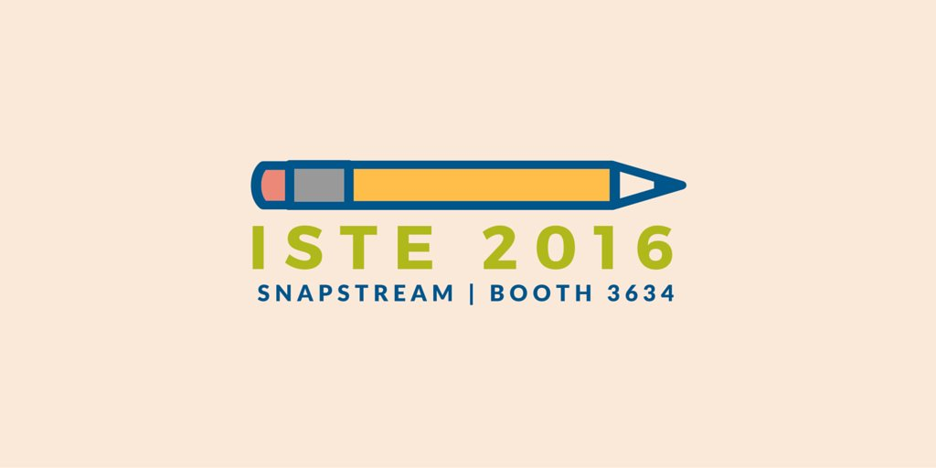 It's the last day at #ISTE, which means it's your last chance to stop by the SnapStream booth! #ISTE2016 https://t.co/ZYjqq5Ie3N