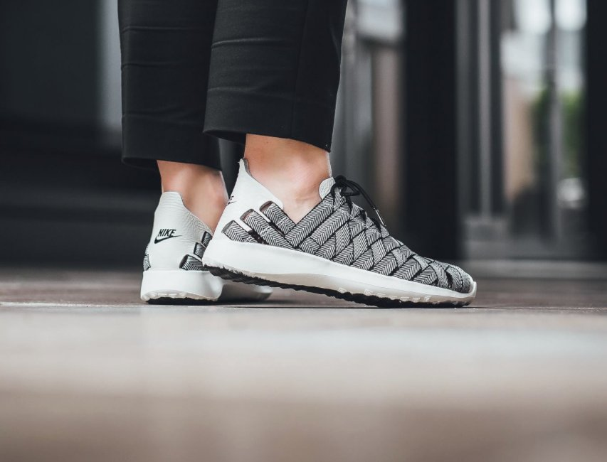 save off 6904a ee6e8 Women s Nike Juvenate Woven Premium  Black Sail  is now available via End     http   bit.ly 28VTJ67 pic.twitter.com o2O2Wd6wXE