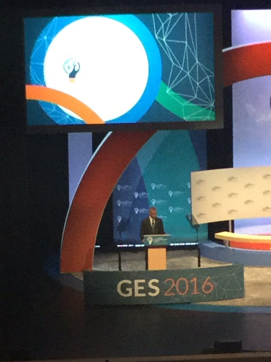 """.@POTUS says to budding social entrepreneurs: """"the world needs your creativity, energy & ambition."""" #GES2016 #socent https://t.co/Z6xgo3pYn6"""