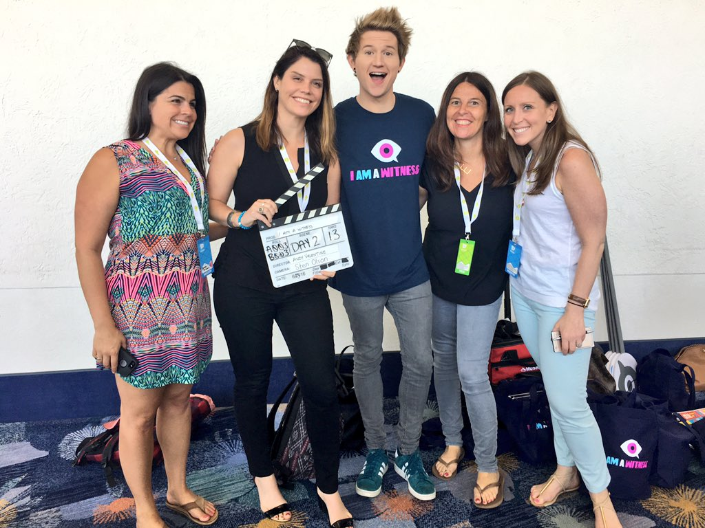 Thank you @RickyPDillon for using your voice for good and appearing in our @ISeeBullying PSA! #Vidcon #IAmAWitness https://t.co/99MNHmgVzM