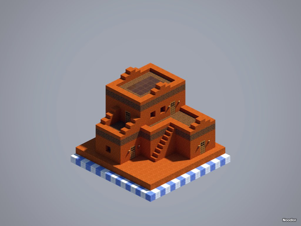 Noodlor on twitter red sandstone pueblo for chunkworld sciox Choice Image