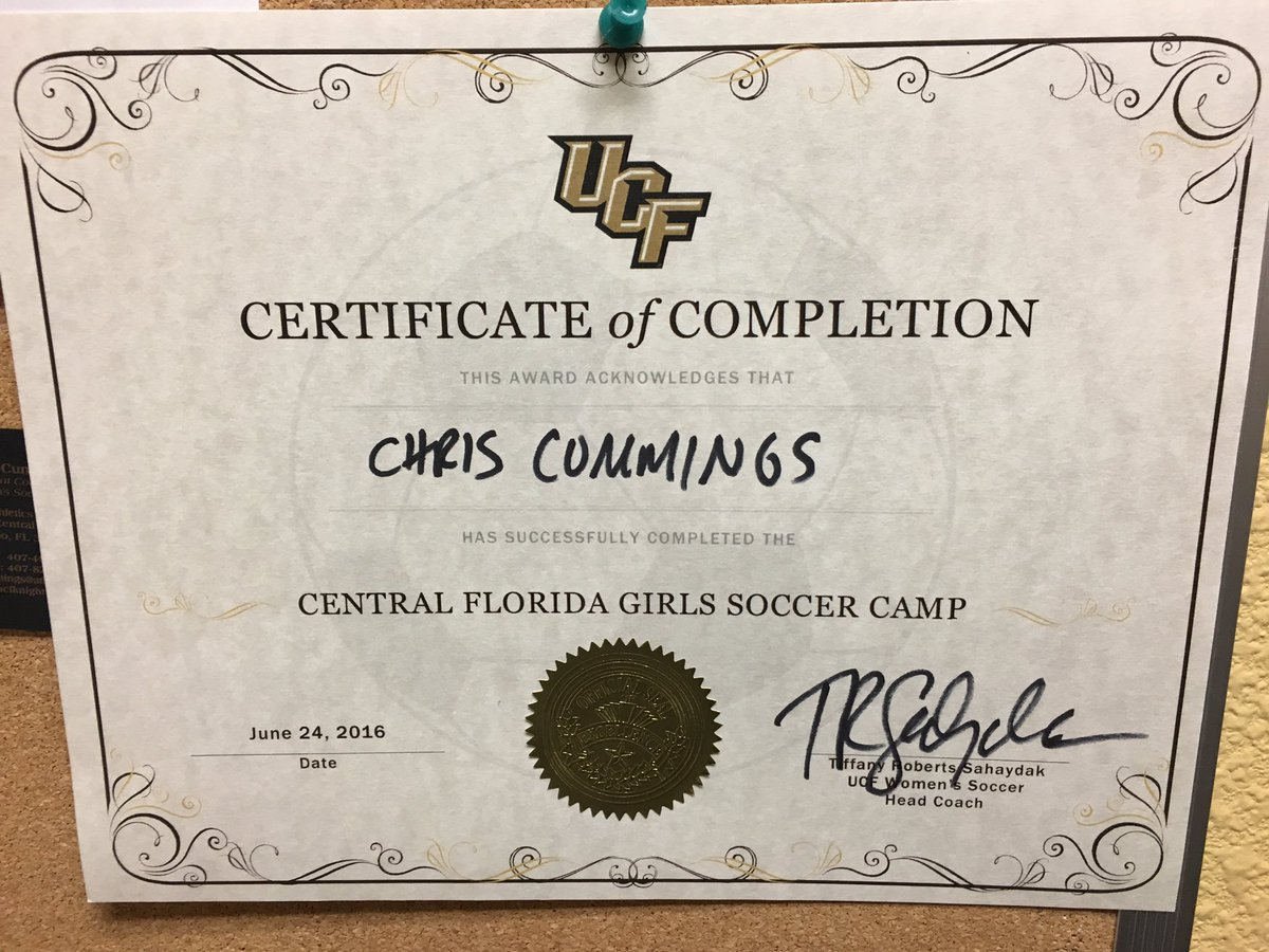 Christopher Cummings On Twitter We Did It Great Week Of Ucf Camp