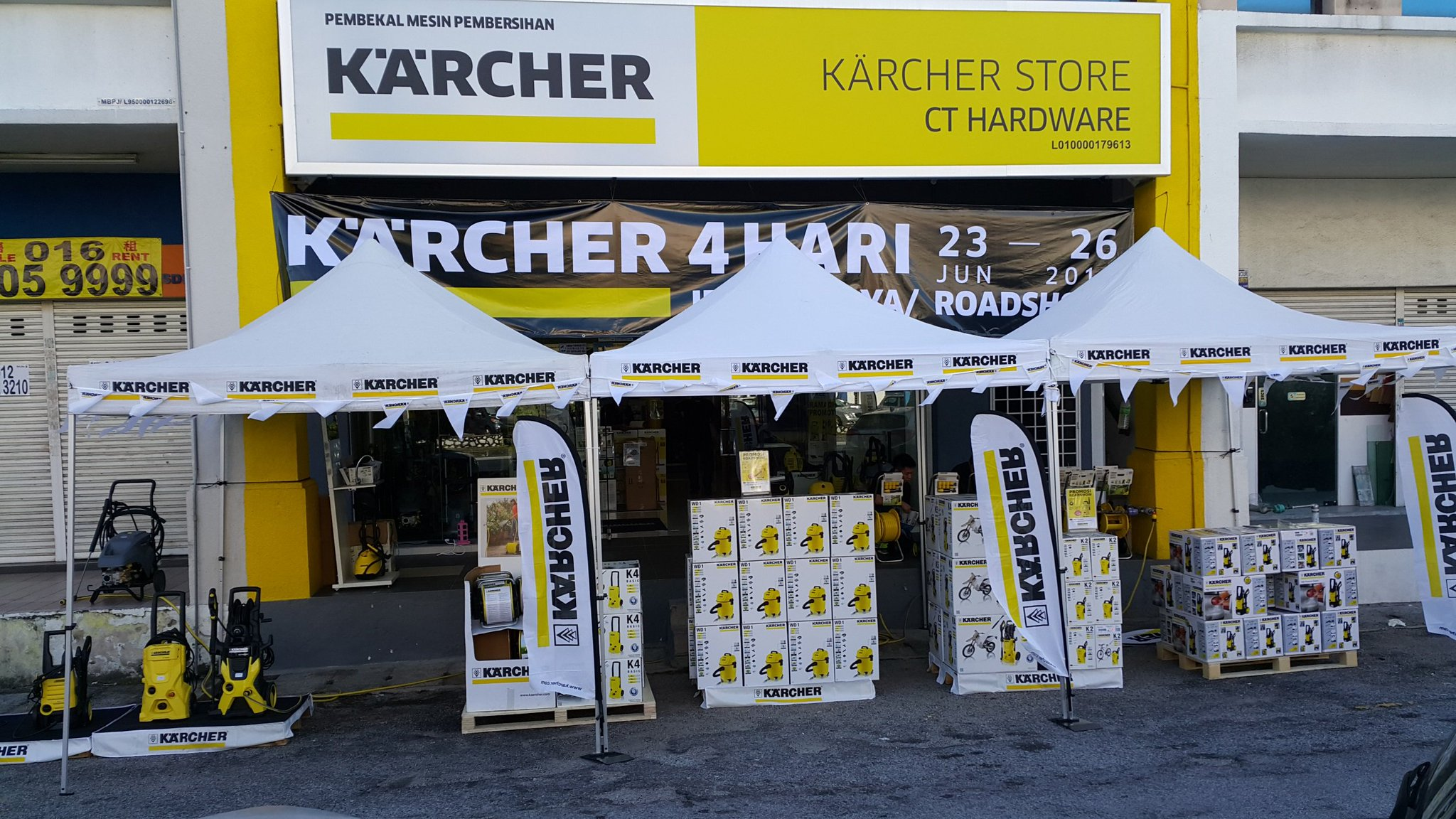 Ct Hardware Sdn Bhd On Twitter Karcher Roadshow Day 3 Is Here Don T Miss It Until Tomorrow Only Demo Is Available Https T Co Jngldbdujb