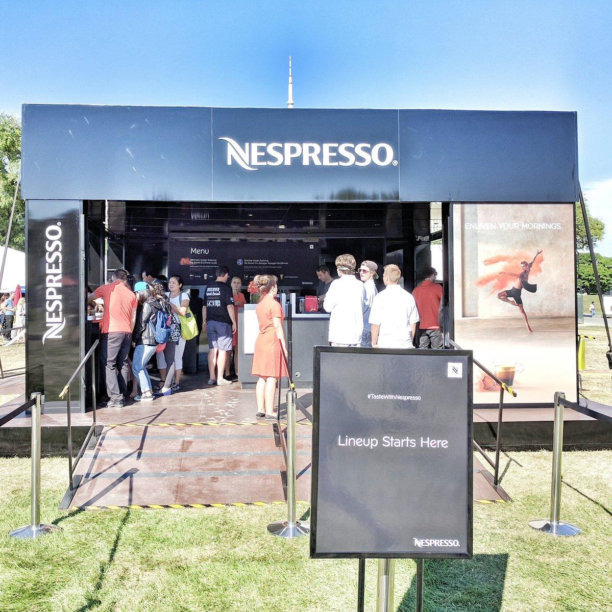 Nespresso Bar at Taste of Toronto