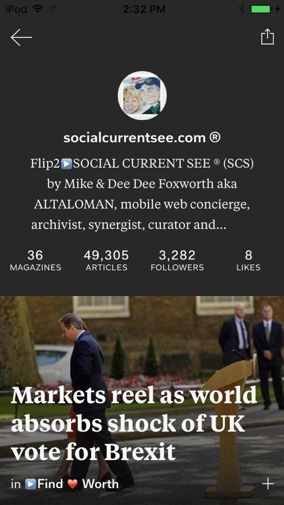 #SocialCurrentSee #ALTACITIES RT ▶ #Brexit ▶Flip②▶ Find♥Worth on Flipboard ▶https://t.co/qWaCTLnOVR https://t.co/3rHkljSEMB