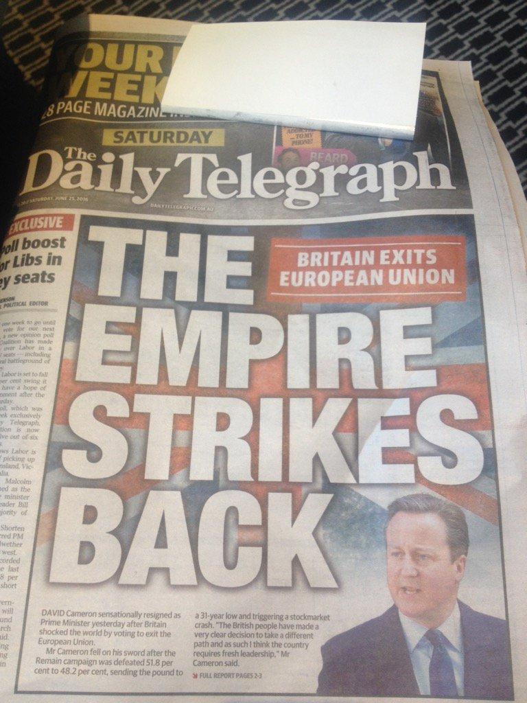 Sydney headline https://t.co/Rc3YnvH5TE