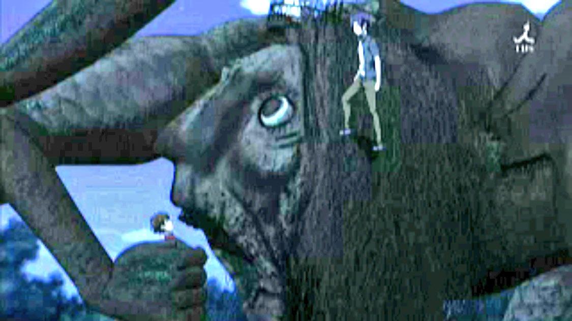 """ろろ王国@テレビ on Twitter: """"#マヨイガ おもしろかった! シナリオ作った人偉いわ。 #ナナキ村 いきてー。#アニメ #運の悪いヒポポタマス… """""""