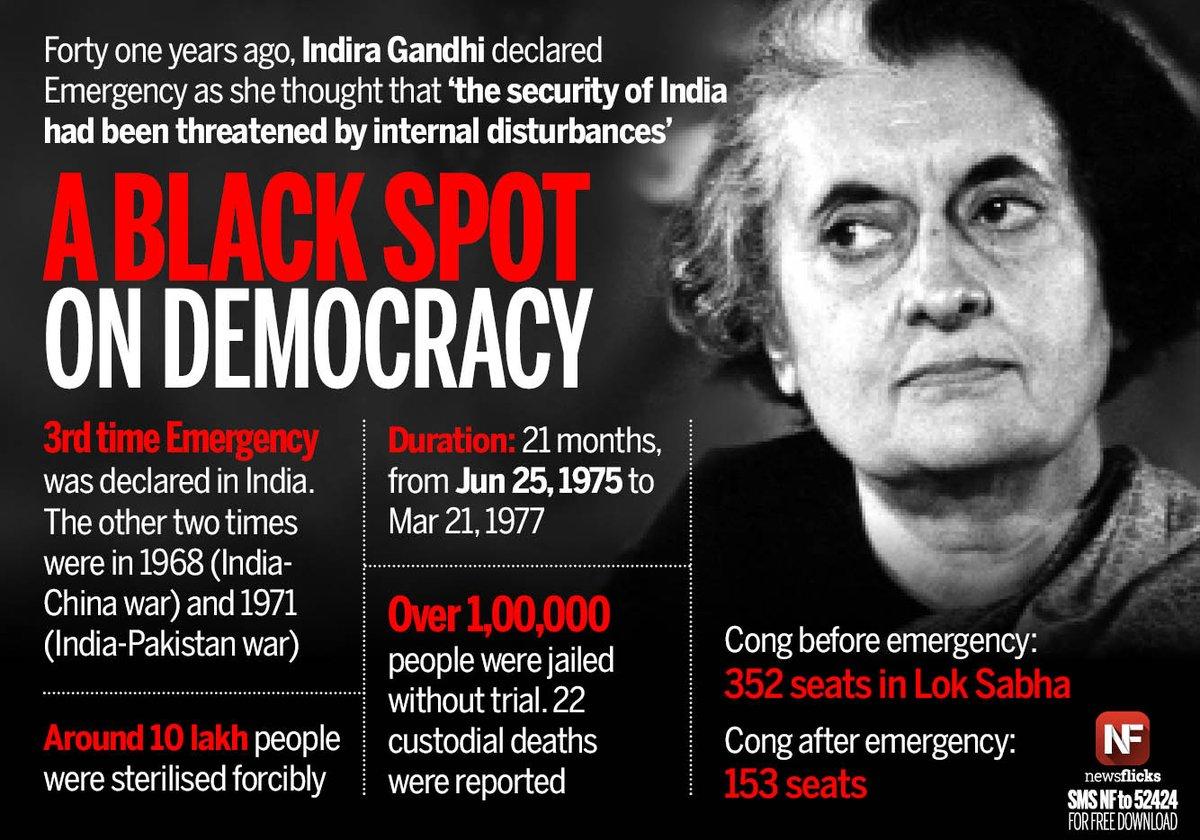 Image result for Indira Gandhi declaring emergency photos images