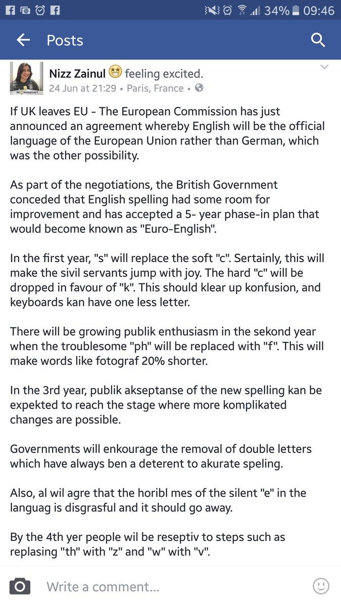 If UK leaves EU .... https://t.co/MZhydOnS51