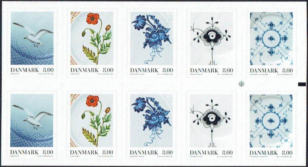 デンマークの新切手「ロイヤル・コペンハーゲン」。デンマークの老舗陶器ブランド、ロイヤル・コペンハーゲンの協力のもと、陶器に絵付け描かれた美しい絵柄が切手になりました。 https://t.co/C5kqXk6ydC https://t.co/15jrZUSOrq