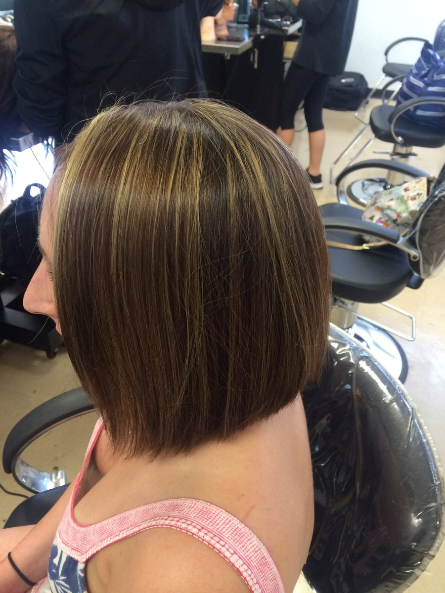 Char On Twitter Sassoonacademy Triangle Haircut With Graduation