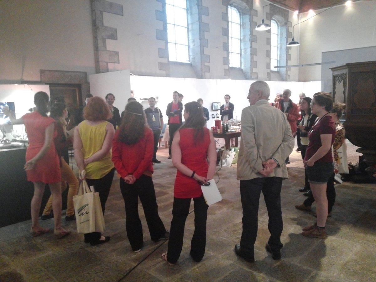 #Museosprint au @MuseedeVire Top départ ! cc @MuseomixBN @MuseomixOuest @museomix #museomix #Vire https://t.co/fYiCCobT3k