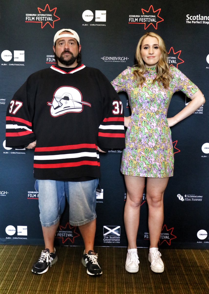What shall we ask the awesome @ThatKevinSmith & Harley Quinn about their new movie @YogaHosers at @edfilmfest ? https://t.co/WE4Brrjgwm