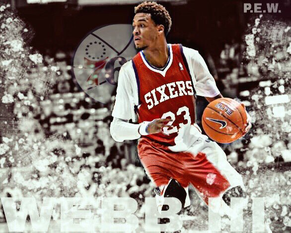 Congrats to my ex-teammate slim dunkin' aka @webbie_iii on signing a two year deal with the Sixers! https://t.co/DGpniJEved
