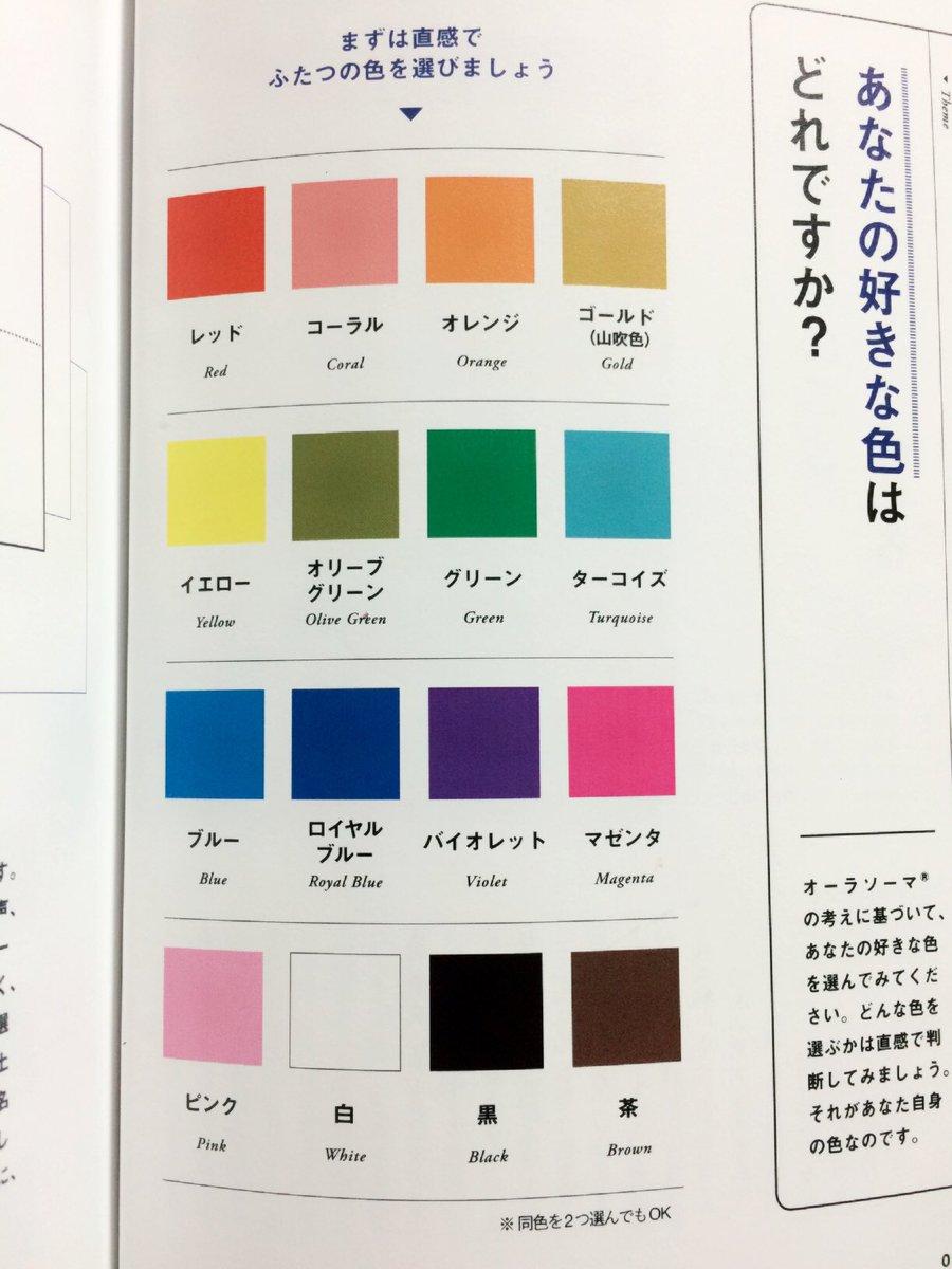 心の心理学好きな色2つ選んでみよう✧‧˚当たる!! pic.twitter.com/jPOIsBM7jC
