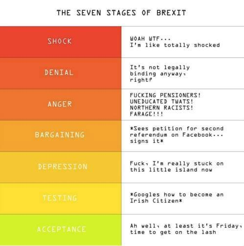 Seven Stages Of #Brexit :) https://t.co/PKGpLkANjc