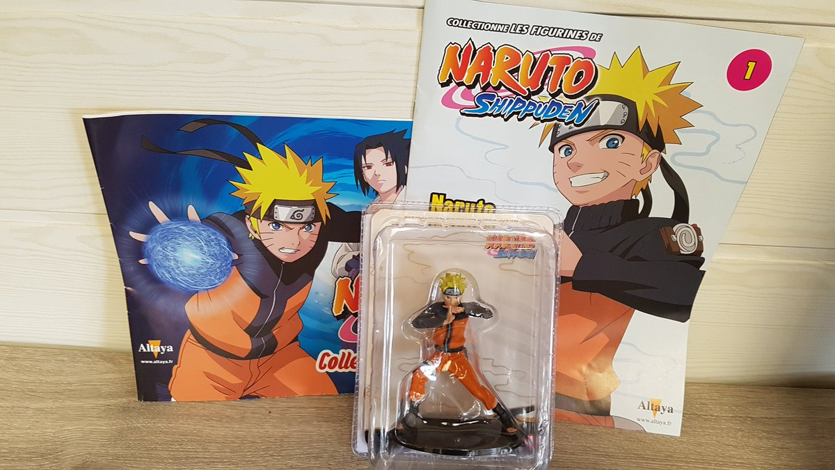 Aurelien on twitter altaya lance une nouvelle collection for Figuras naruto altaya