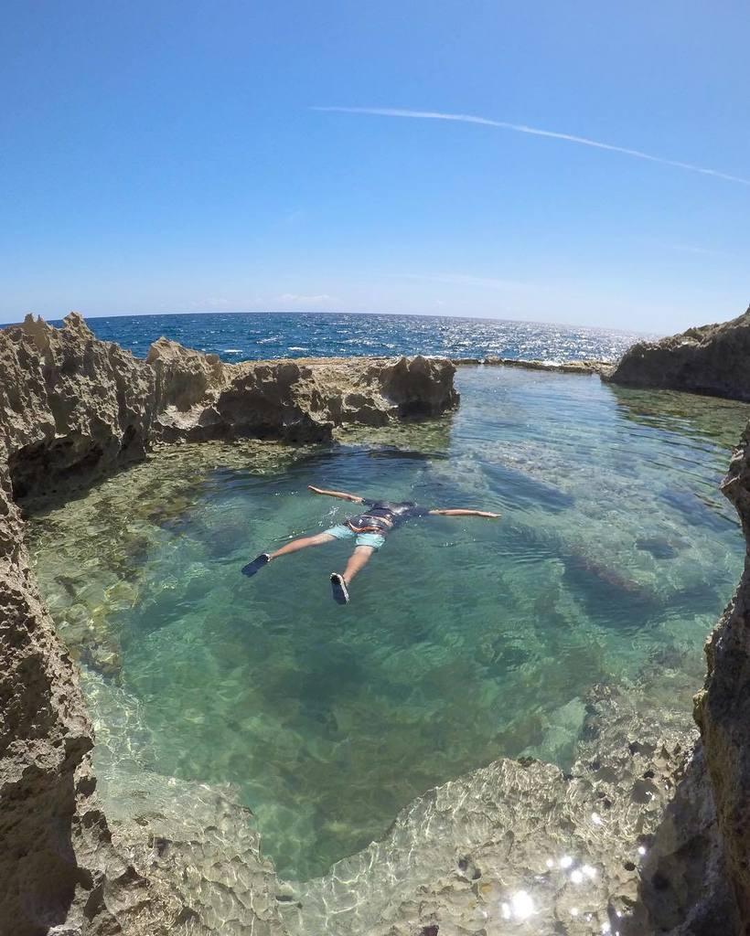 T rate pr on twitter piscina natural by for Piscina natural de puerto santiago