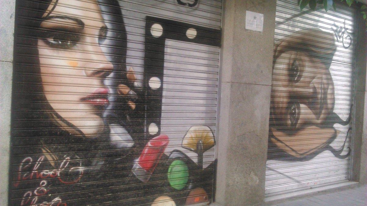 RT @Noe_Urdangaray: El arte urbano de Malasaña https://t.co/ytjWCZDUpi