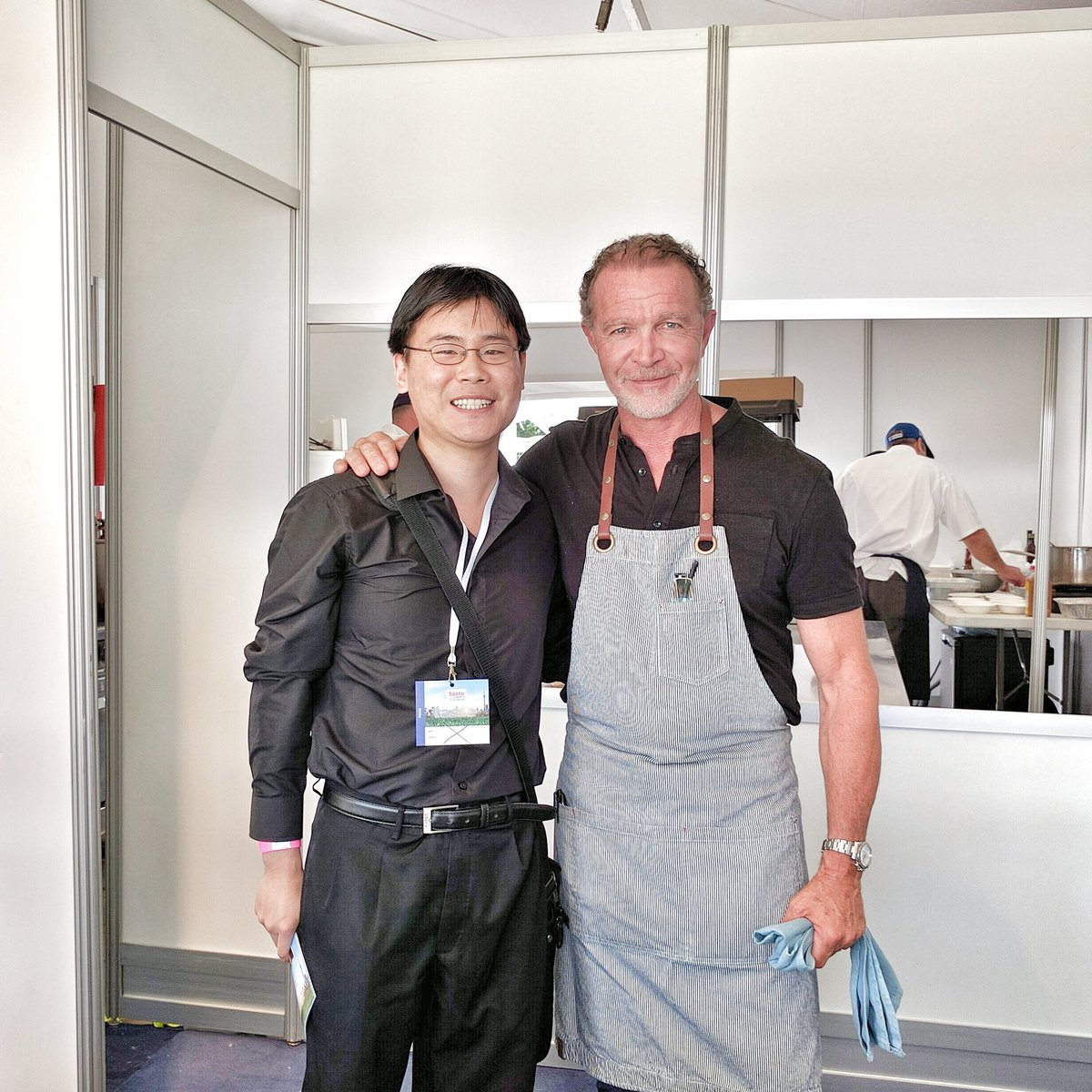 Chef Mark McEwan of the McEwan Group with Travelling Foodie Raymond Cua