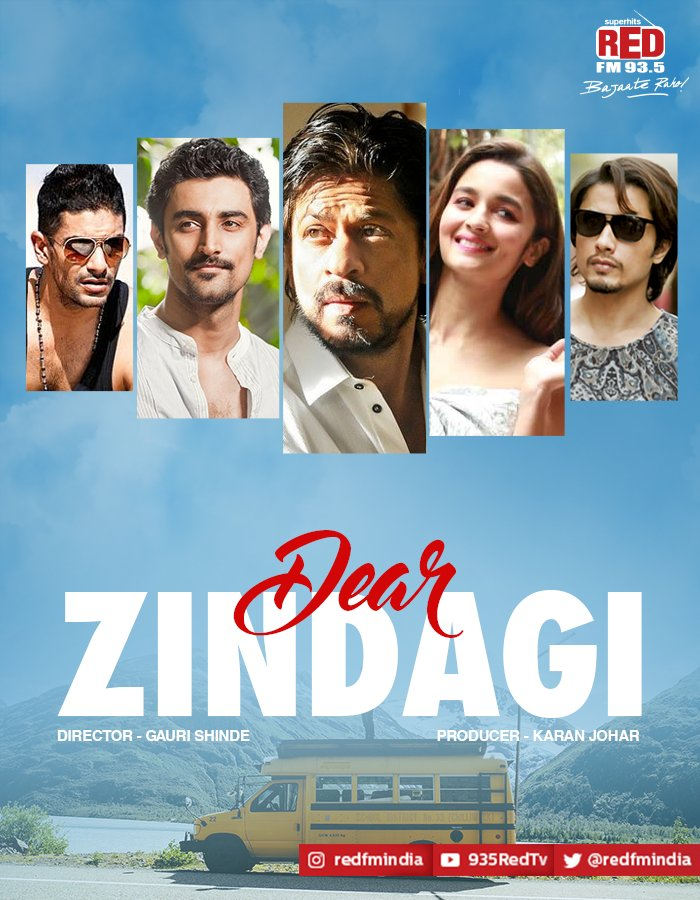 Dear Zindagi 2016 Worldfree4u – Hindi Movie DVDScr HD 720P ESubs