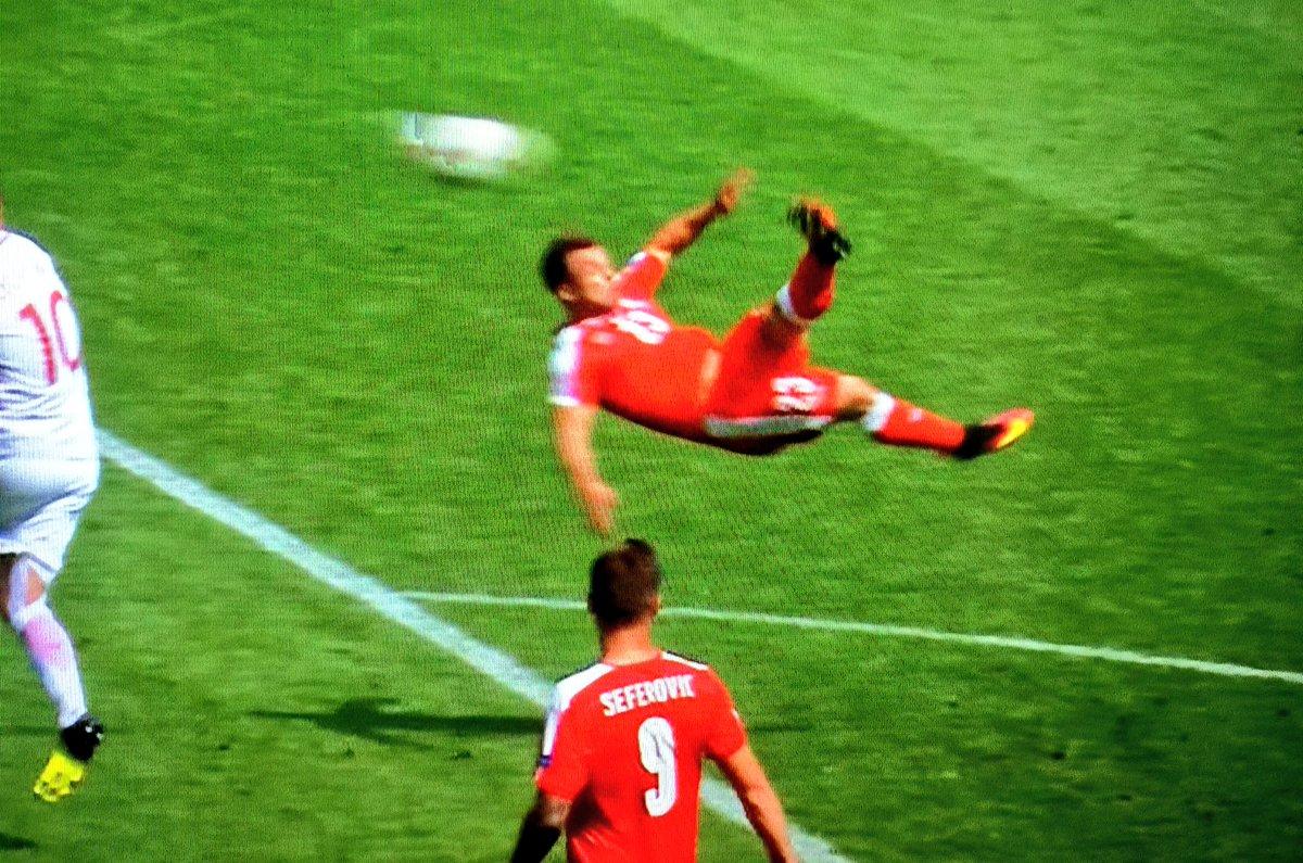 POLONIA elimina la Svizzera ai rigori: la rovesciata Shaqiri il gol più bello di Euro 2016)
