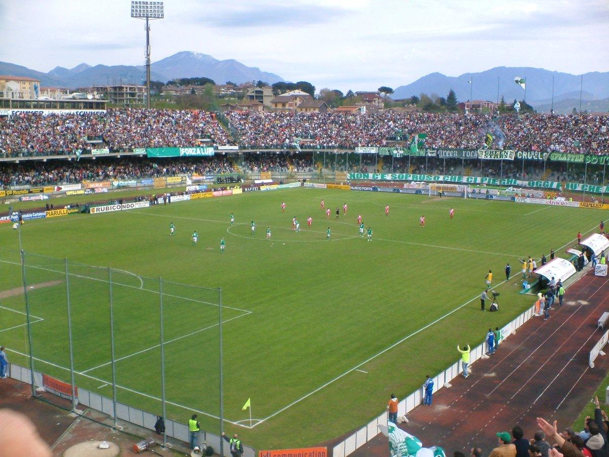 Stadio Partenio di Avellino, il più grande impianto italiano in erba sintetica