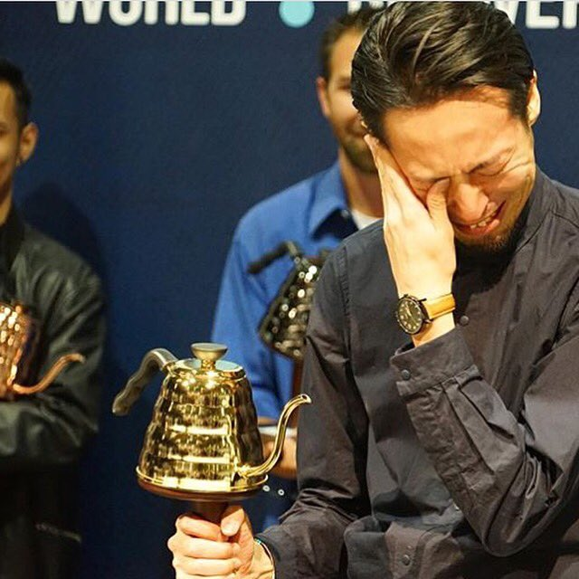 Tetsu Kasuya of Japan announced as 2016 World Brewers Cup Champ! ☕️