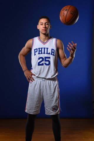 Ben Simmons wearing his  Sixers jersey for the 1st time via  Sixers pic.twitter.com p4D3YbPKAU 9f1891947
